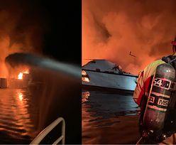 Pożar łodzi w Los Angeles. 34 osoby uwięzionych na pokładzie