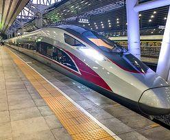 Luksusy w chińskim pociągu. Tak to wygląda od środka