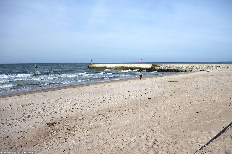 Słupsk (Pomorskie). Makabryczne odkrycie na plaży w Ustce