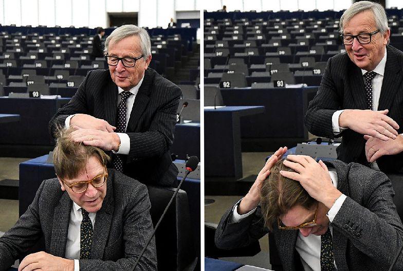 """Juncker znów to zrobił. """"Ofiarą"""" szefa KE padł Guy Verhofstadt"""