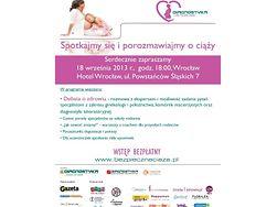 Plakat Diagnostyki dla Twojej Ciąży - Wrocław