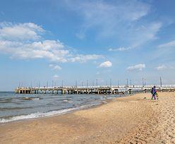 WOPR ostrzega turystów. Na dnie morza utworzyła się niebezpieczna głębia