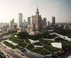 Patryk Jaki prezentuje futurystyczną wizję placu Defilad