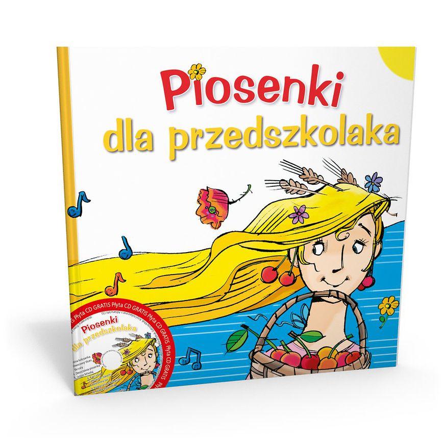 Książka - Piosenki dla przedszkolaka