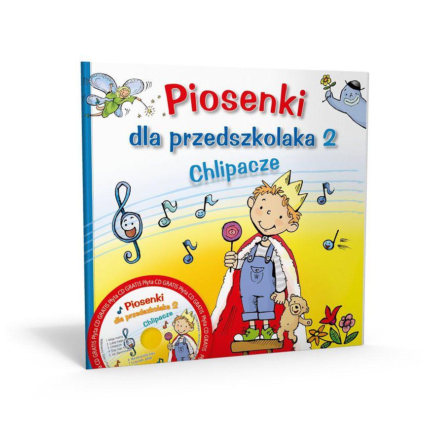 Okładka książki Piosenki dla przedszkolaka 2