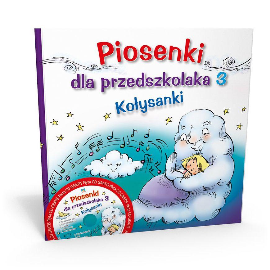 Okładka książki - Piosenki dla przedszkolaka kołysanki