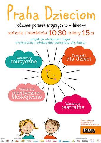 Praha dzieciom - plakat