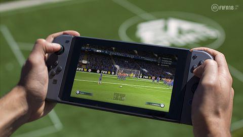 Zaskoczenia nie ma - FIFA 18 na Switchu mocno kuleje
