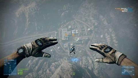 Łał, skoki ze spadochronem! Zobacz najnowszy zwiastun Battlefield 3