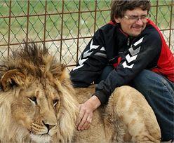 Czech zginął po ataku lwa, który mieszkał na jego podwórku