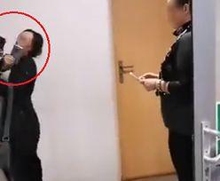 Zgorzelec. Ksiądz uderzył aktywistkę na procesie proboszcza oskarżonego o pedofilię