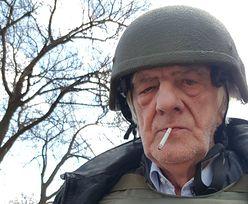 """Terlecki z papierosem w ustach i w kamizelce kuloodpornej. """"Ukraińcy kazali ubrać"""""""
