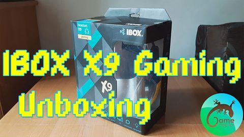 Słuchawki IBOX X9 Gaming - Unboxing