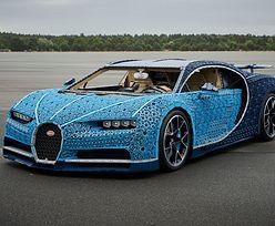 W pełni funkcjonalny samochód z klocków Lego. Bugatti Chiron z miliona klocków