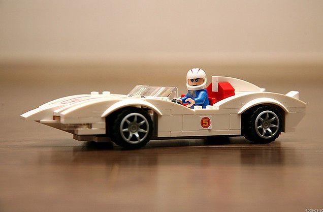 Samochód sportowy Lego