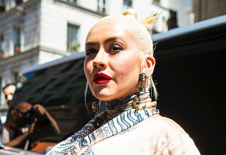Christina Aguilera w 2019 roku we Francji