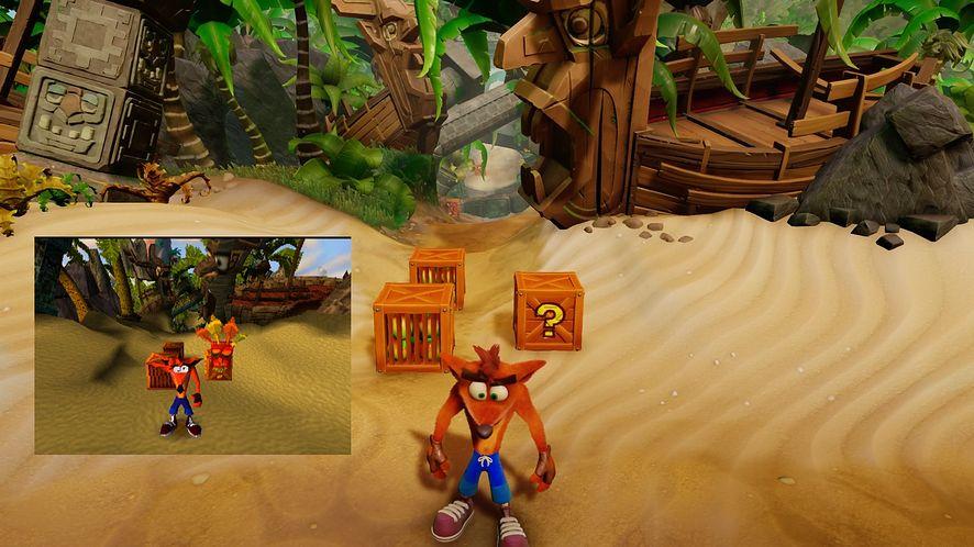 20 lat minęło - sprawdzamy, jak Crash Bandicoot: N. Sane Trilogy wypada na tle pierwowzorów