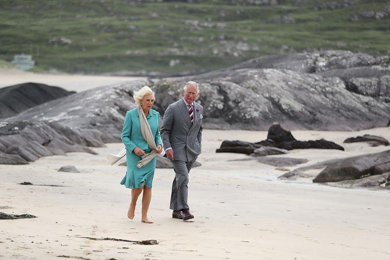 Camilla Parker Bowles i książę Karol w Irlandii