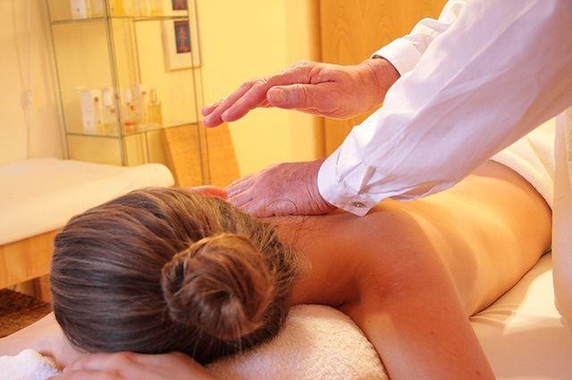 Regularny masaż