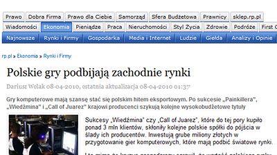 Rzeczpospolita: wartość polskiego rynku gier zmalała o 20-40 proc.