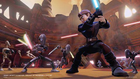Darth Maul, Anakin i Zmierzch Republiki na zwiastunie Disney Infinity 3.0