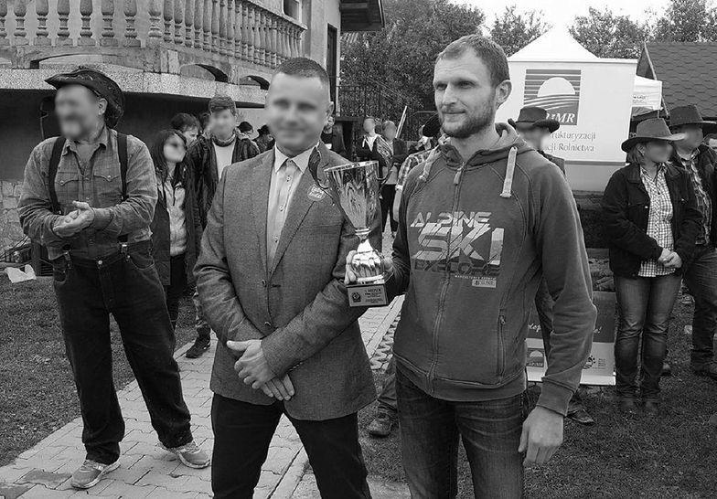 """Tomasz Równiak w 2017 roku zajął pierwsze miejsce w  biegu charytatywnym """"Artemida Cross""""."""