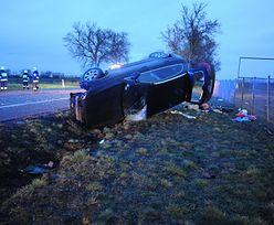 Pijany oficer CBŚ sprawcą wypadku pod Lesznem. Ma przejść na emeryturę