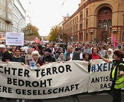 Berlin. Niemcy tłumnie zaprotestowali przeciwko antysemityzmowi