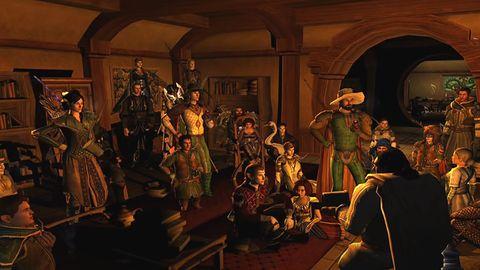 Gracze Lord of the Rings Online postanowili uczcić pamięć niedawno zmarłego Iana Holma