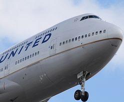 Samolot pasażerski zapalił się w trakcie lotu. Dramatyczne nagranie