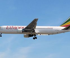 Etiopia: katastrofa samolotu pasażerskiego. Nikt nie przeżył