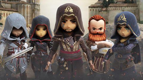 Assassin's Creed Rebellion nie ucieknie od porównań do Fallout Shelter