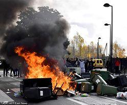 Tysiące Francuzów protestują. Paraliż w centrum Paryża i starcia