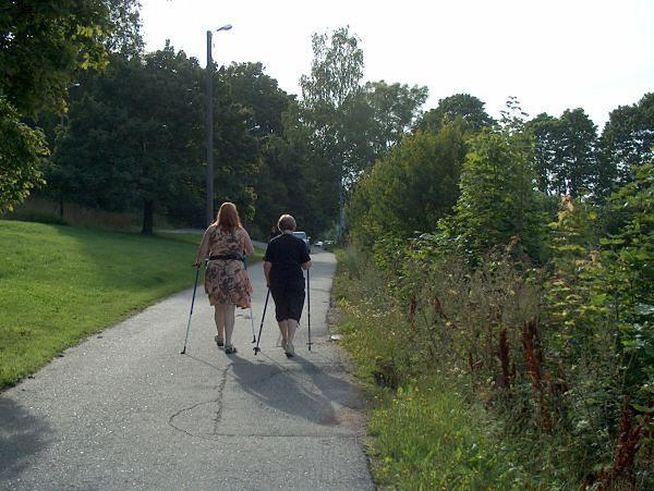 Osoby uprawiające nordic walking - popularność