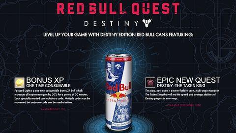 W Destiny: The Taken King będzie zadanie na wyłączność... Red Bulla