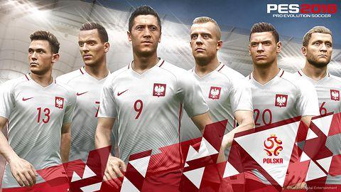 Polska reprezentacja w PES 2018 z pełną licencją