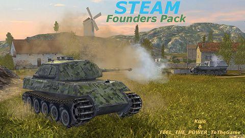 Randomki czołgami z STEAM Founders Pack - World of Tanks Blitz