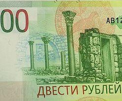 Rosja wypuszcza kontrowersyjny banknot. Krymu już nie oddadzą