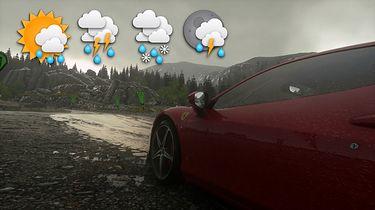 Przygotujcie parasole i kaptury - sprawdzamy aktualizację pogodową w DriveClub