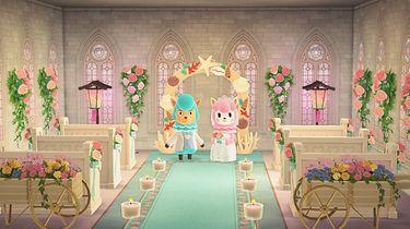 Sezon ślubny w Animal Crossing: New Horizons wystartował