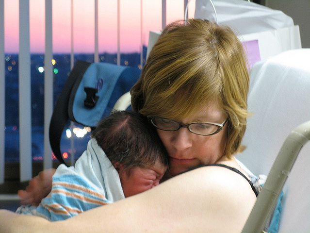 Pierwsze chwile noworodka