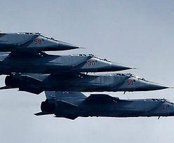 Rosja. Bitwa powietrzna myśliwców nad Syberią