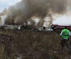 Katastrofa meksykańskiego samolotu. Maszyna stanęła w płomieniach tuż po starcie