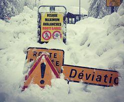 Ewakuacja 100 alpejskich pensjonatów. Ekstremalna sytuacja w Chamonix