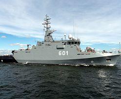 Kormoran II wypływa na Bałtyk
