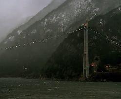 Najdłuższy most w Norwegii, zbudowany na wodzie o głębokości 1 kilometra