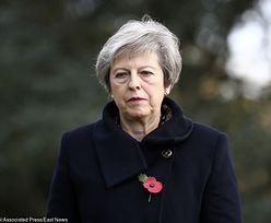 Wypadek kolumny wiozącej Theresę May i premiera Belgii
