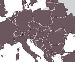 Trudny quiz dla prawdziwych mistrzów. Rozpoznaj europejski kraj po konturach