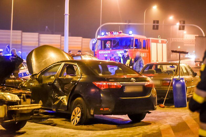 Wypadek wydarzył się 25 stycznia w Lubiczu Dolnym k. Torunia.