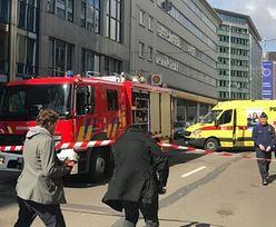 Alarm bombowy w Brukseli. Ewakuowano 40 osób